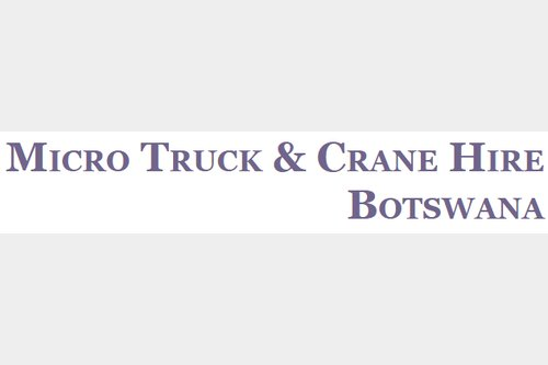 Micro Truck & Crane Hire (PTY) LTD