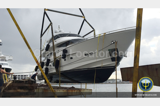 $7 million Horizon E88 was being delivered to Golfito