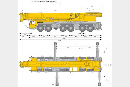 Request to purchase - All terrain mobile crane Liebherr LTM1300-6.2