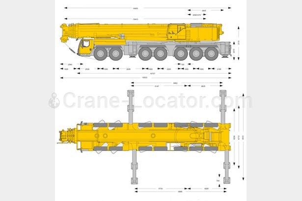 Request for 400 t mobile crane, secondhand
