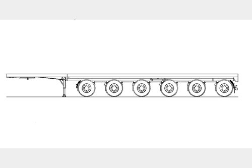 Request for 6 axle counter weights (ballast) trailer x 2 units needed