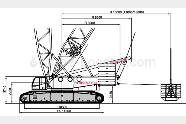 Request for 600 ton Crawler crane to purchase