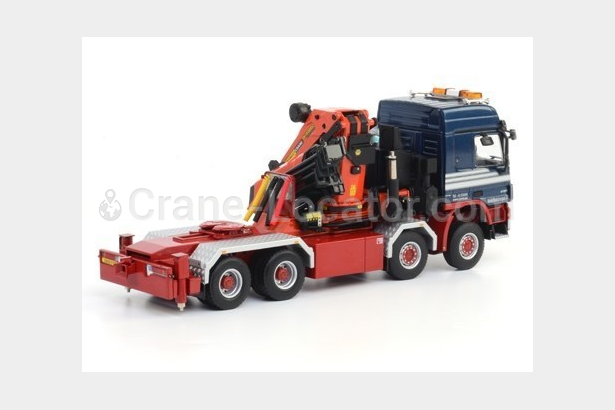 Request for 8x4 truck with crane