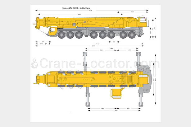 Request for  brand new pricing for  similar to - All terrain mobile crane Liebherr Ltm 1500-8.1Crane-locator subscription is reasonable tool