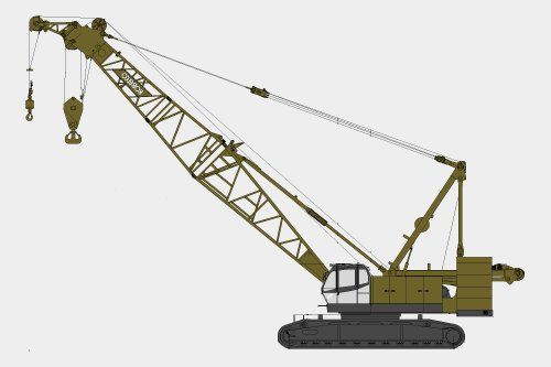 Request for crawler crane 200-300 t for Kazakhstan