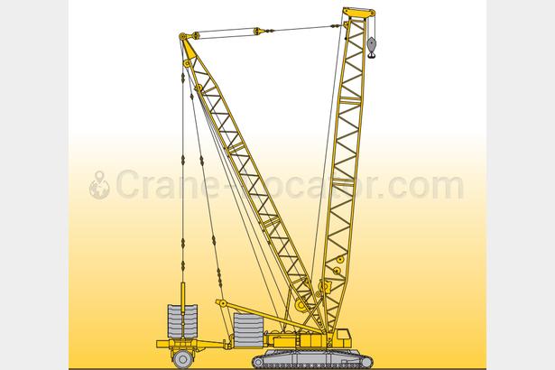 Request for crawler crane, Liebherr 400 t capacity