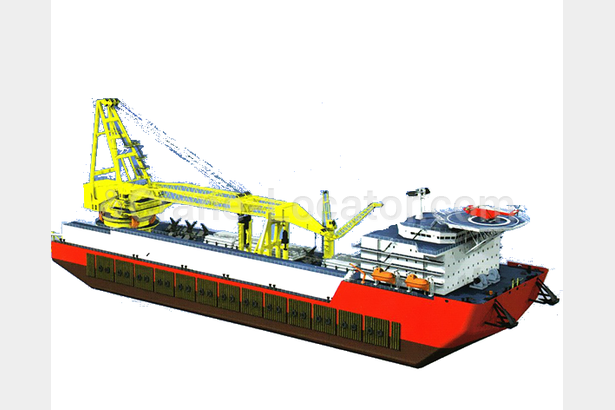 Request for floating crane for project