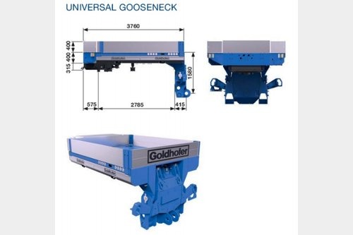 Request for Goldhofer module equipment