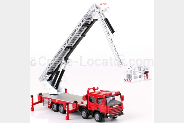 Request for high reach working platform 50-60 m, truck or semi trailer based