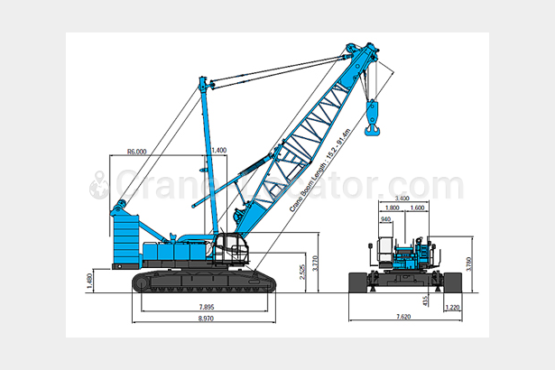 Request for Kobelco second hand Crawler crane 250 ton