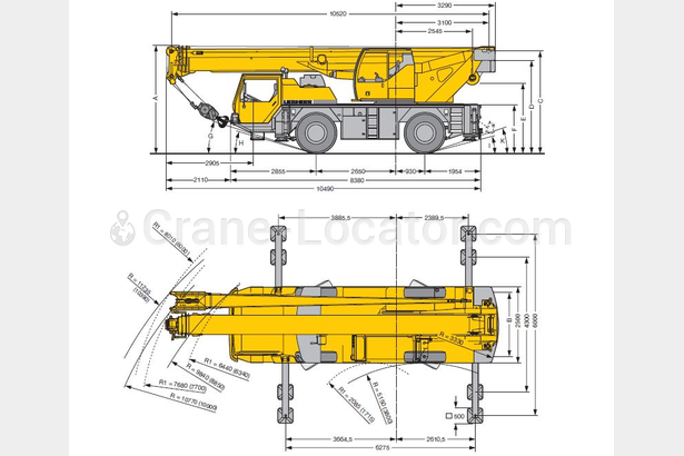 Request for Liebherr LTM 1040 for North America