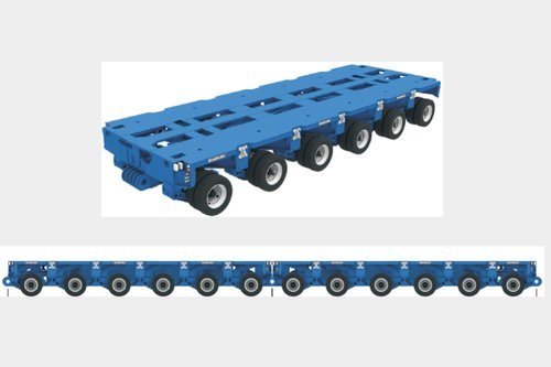 Request for module trailer 12 lines Goldhofer or Cometto