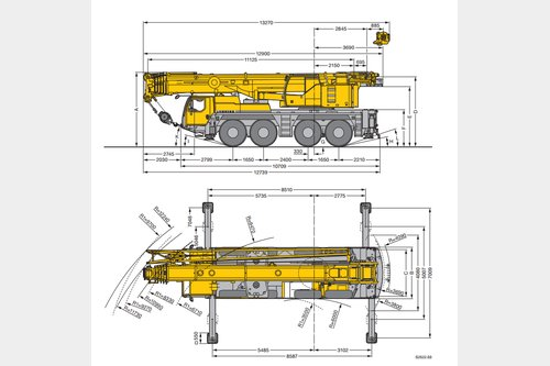 Request for  Rent  similar to - All terrain mobile crane Liebherr LTM 1090-4.1Crane-locator subscription is reasonable tool