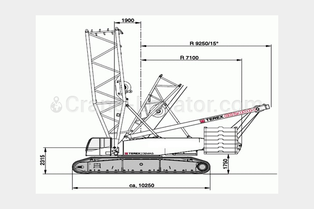 Request to purchase Lattice boom crawler crane Demag CC 2000