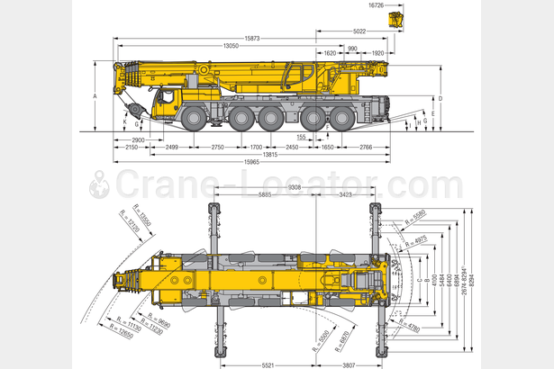 Request for  Sale  similar to - All terrain mobile crane Liebherr LTM1250Crane-locator subscription is reasonable tool
