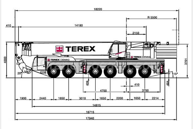Request for  Sale  similar to - All terrain mobile crane Terex Demag AC 350Crane-locator subscription is reasonable tool