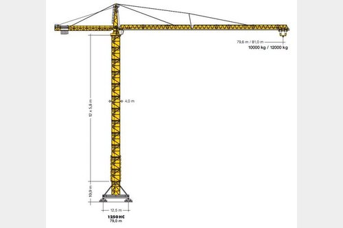 Request for Sale similar to - Tower crane Liebherr 1800 C 60Crane-locator subscription is reasonable tool
