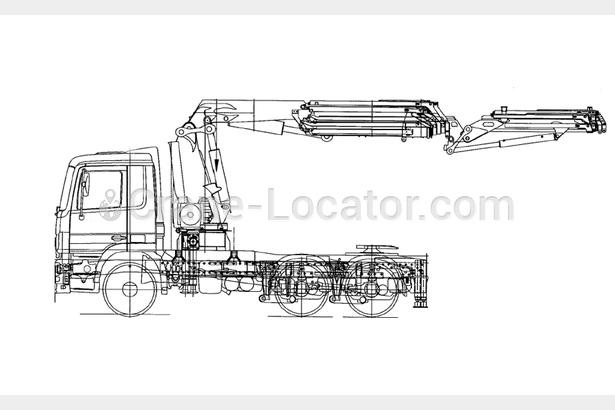 Request for  Sale  similar to - Truck with crane Mercedes-Benz Actros 2644 LSCrane-locator subscription is reasonable tool