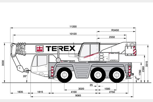 Request for second hand Terex DEMAG AC50