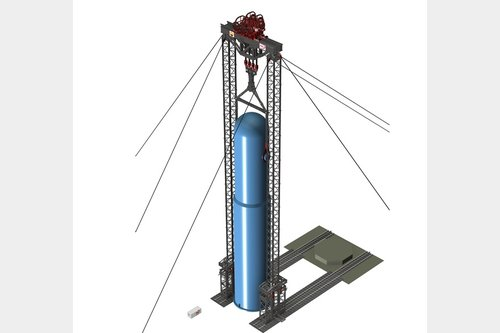 Request for Self Erecting Tower