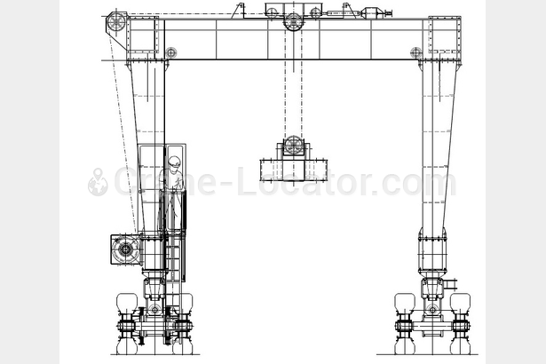 Request for Straddle Carrier 100 t, 2 units
