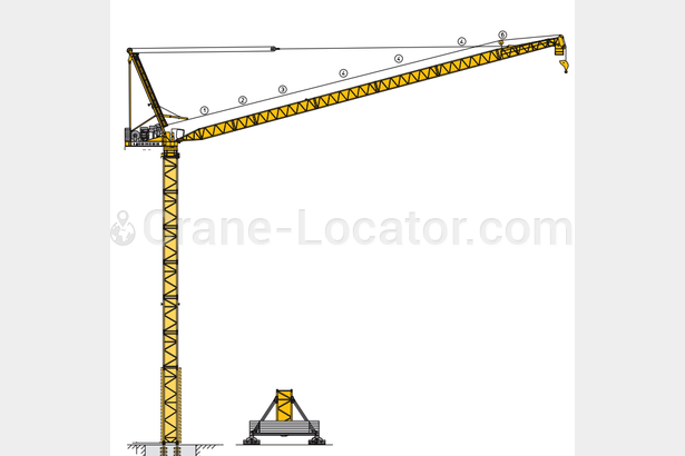 Request for tower cranes x 5 units