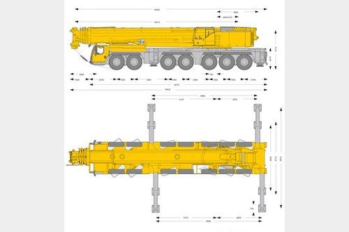 Request to purchase all terrain cranes 300-400 tons