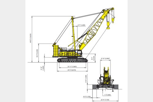 Request to purchase crawler crane CK2750G