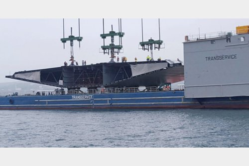 Barge Multi-Purpose, Heavy-Lift  Carrier, Pontoon