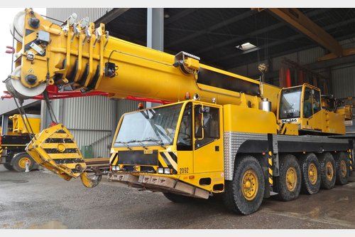 Search all heavy-lifting & transport equipment on the map
