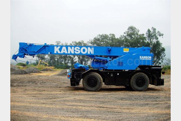 Rough Terrain Mobile Crane Kobelco Rk250