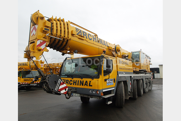 Liebherr 130t for Rent