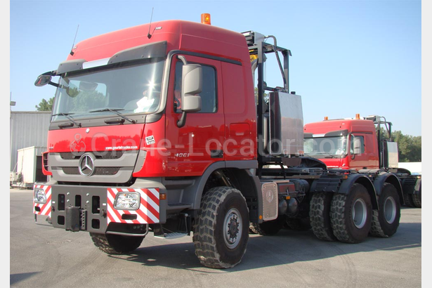 Mercedes Benz 6x6 SLT push/pull