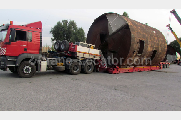 Delivery of equipment for  sugar plant