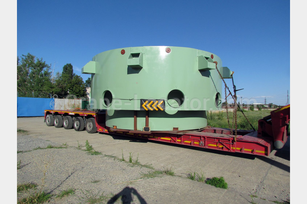 Transportation of equipment for nuclear power plant
