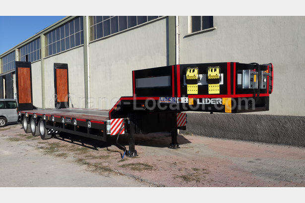 LIDER 3 Axle Lowbed semi-trailers