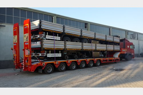 Lider 6 axle Lowbed semi-trailers