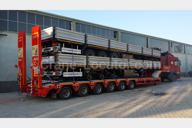 6 axle Lowbed semi-trailers
