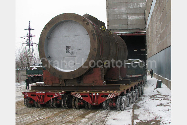 Transportation reactor weighing 340 tonnes