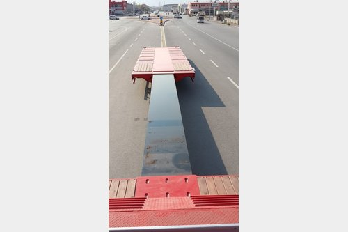Lider Extendable 5 axle Lowbed semi-trailers