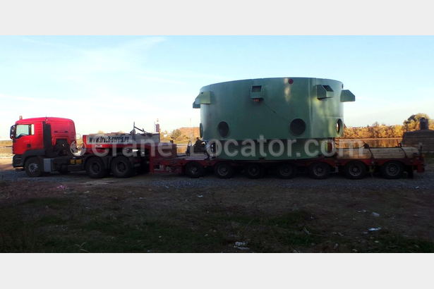 Delivery of equipment for NPP