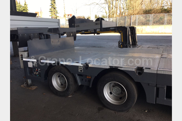 10 axle semi trailer